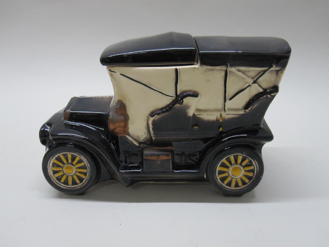 VINTAGE McCOY TOURING CAR COOKIE JAR