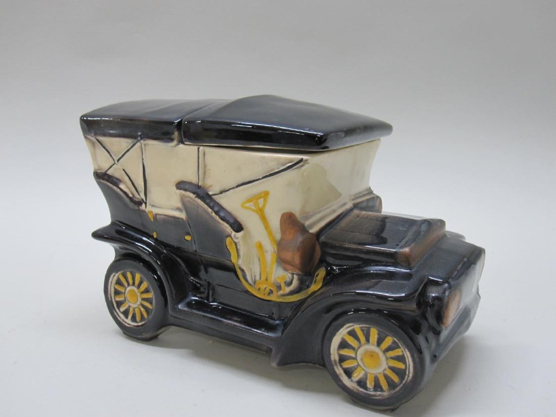 VINTAGE McCOY TOURING CAR COOKIE JAR - 3