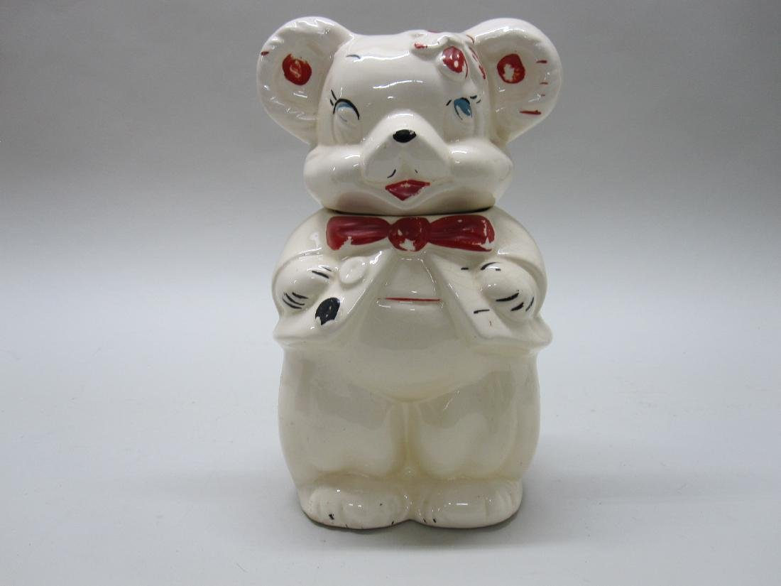 VINTAGE McCOY HONEY BEAR COOKIE JAR