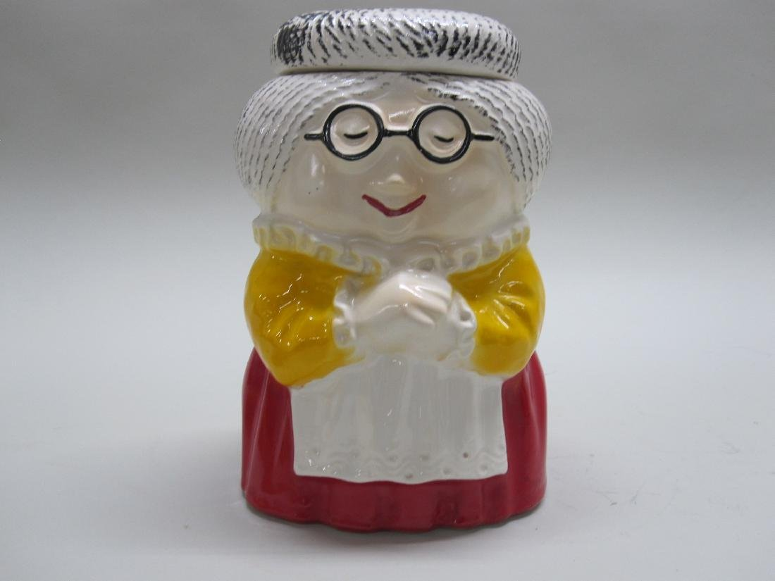 VINTAGE McCOY GRANDMA COOKIE JAR