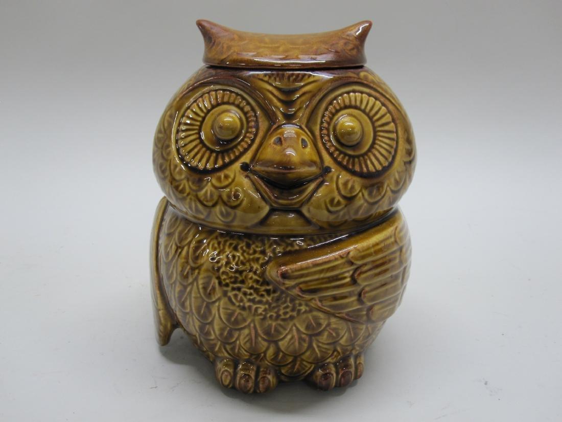 VINTAGE GIANT OWL COOKIE JAR