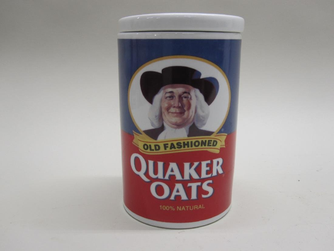 VINTAGE QUAKER OATS COOKIE JAR