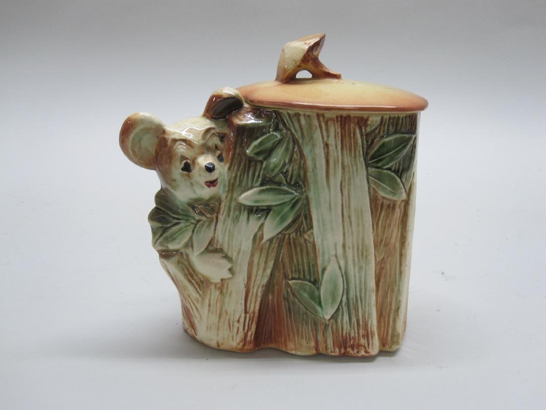 VINTAGE KOALA CLIMBING A TREE COOKIE JAR