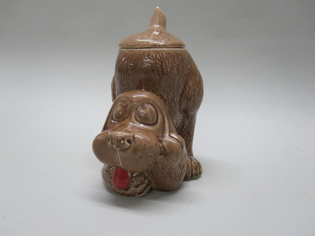 VINTAGE THINKING PUPPY COOKIE JAR