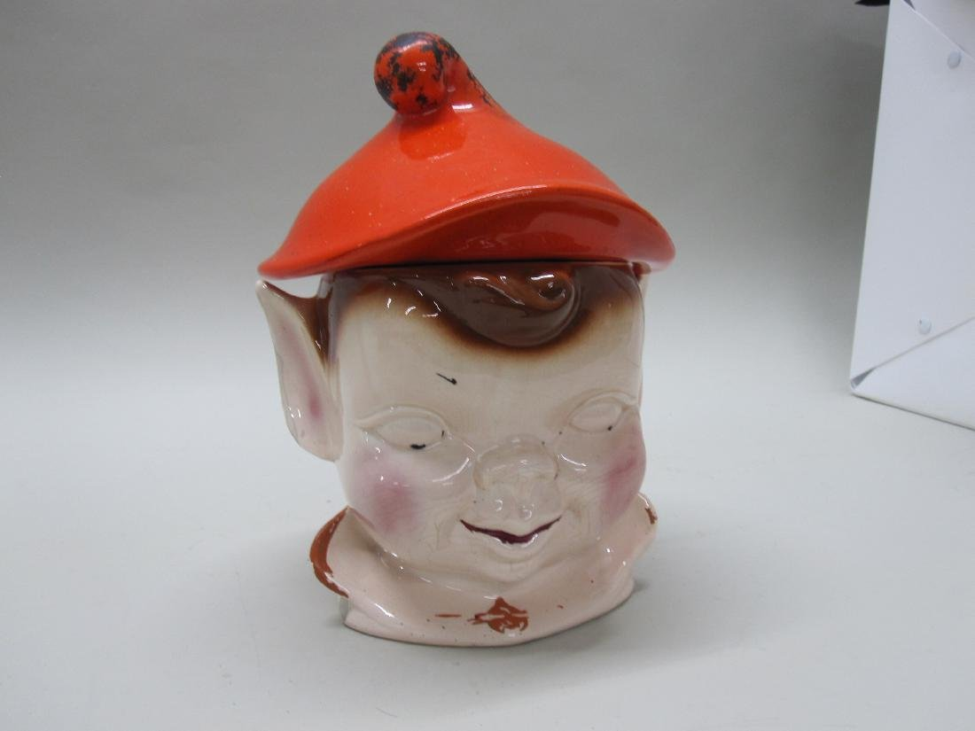 VINTAGE JACK COOKIE JAR
