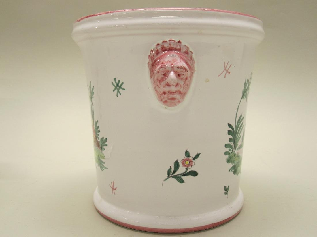 OCTAGONAL TIFFANY AND COMPANY CACHE POT - 4