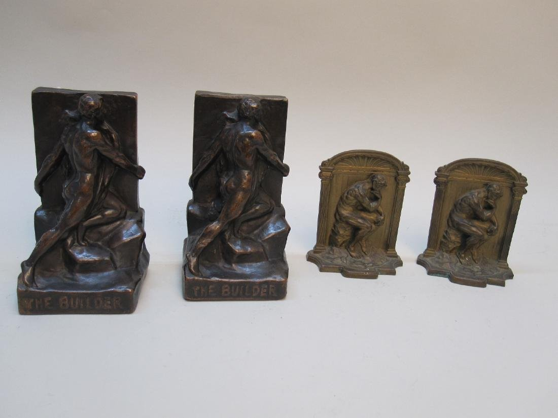 PAIR OF THE BUILDER BOOKENDS