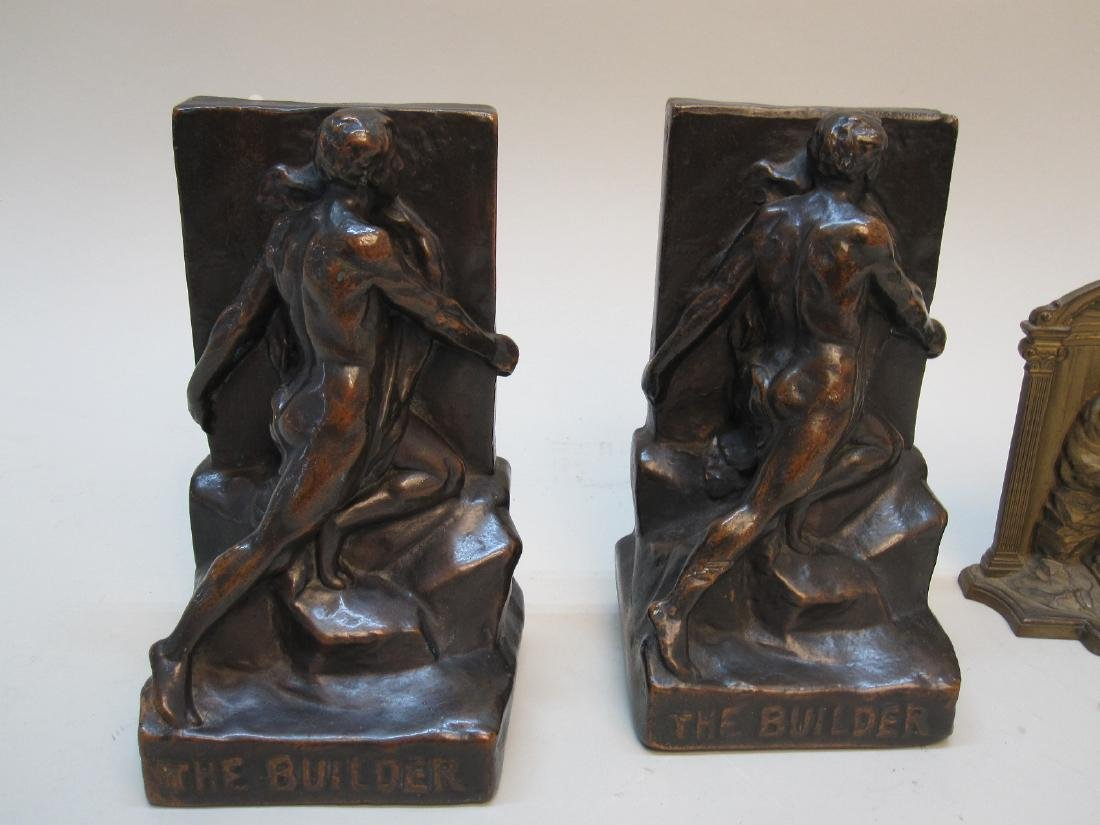 PAIR OF THE BUILDER BOOKENDS - 2