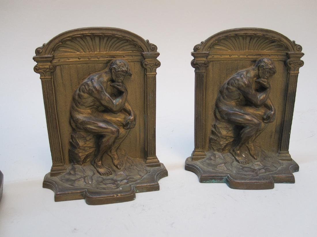 PAIR OF THE BUILDER BOOKENDS - 3