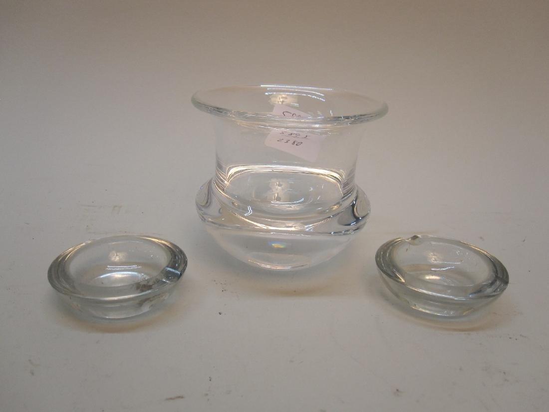 STEUBEN GLASS SMALL VASE