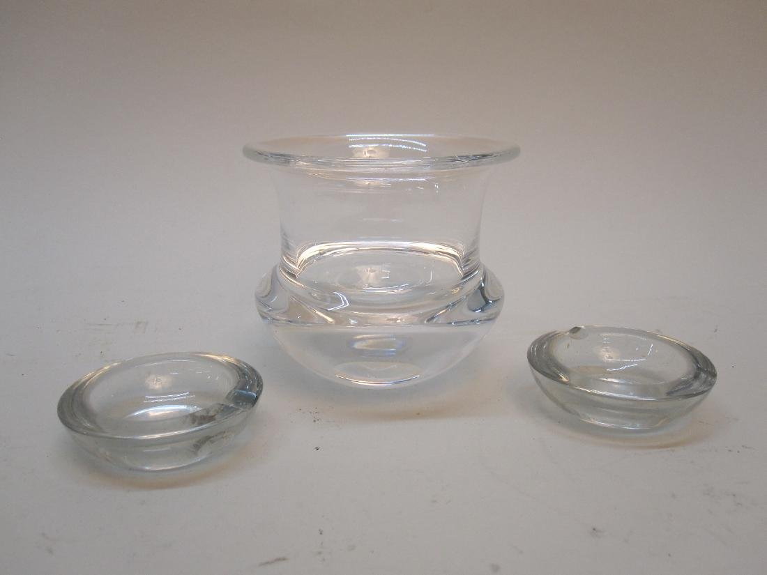 STEUBEN GLASS SMALL VASE - 2