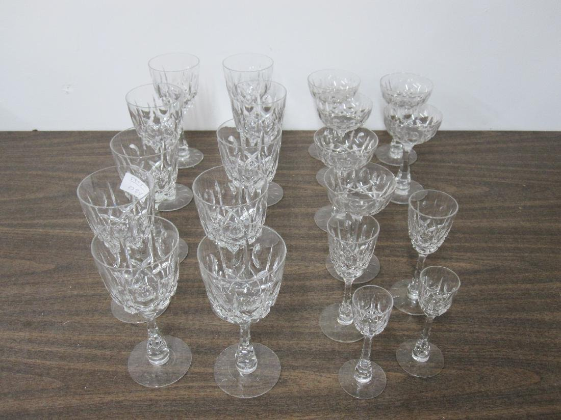 GROUP OF ASSORTED GLASS STEMWARE
