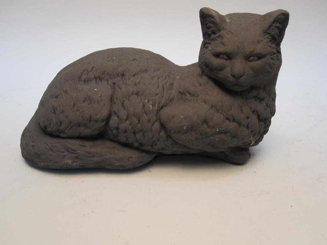 CONCRETE STATUE OF A CAT