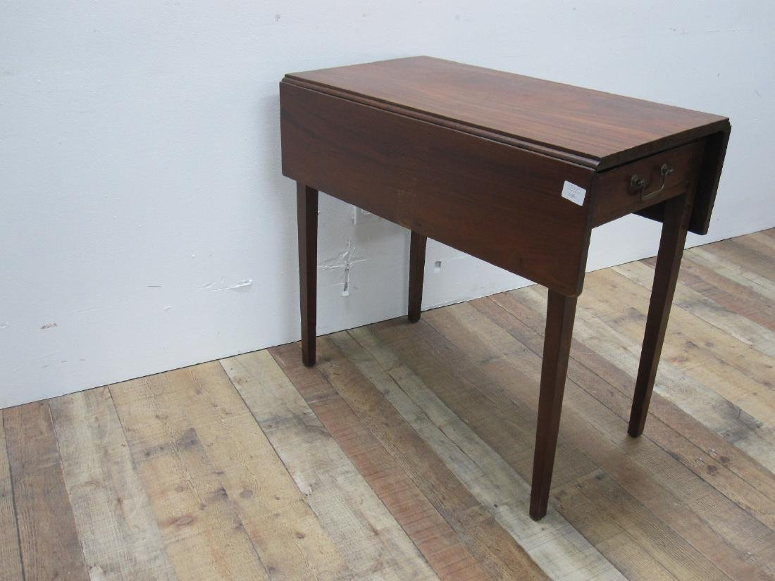CHERRYWOOD DROP LEAF TABLE - 2