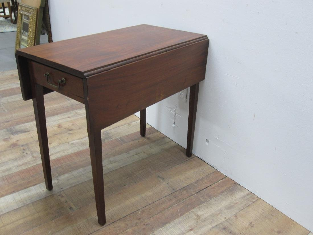 CHERRYWOOD DROP LEAF TABLE - 3