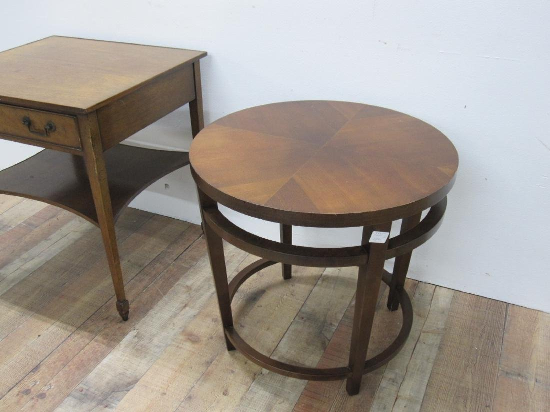 FRUITWOOD ONE DRAWER OCCASIONAL TABLE - 2