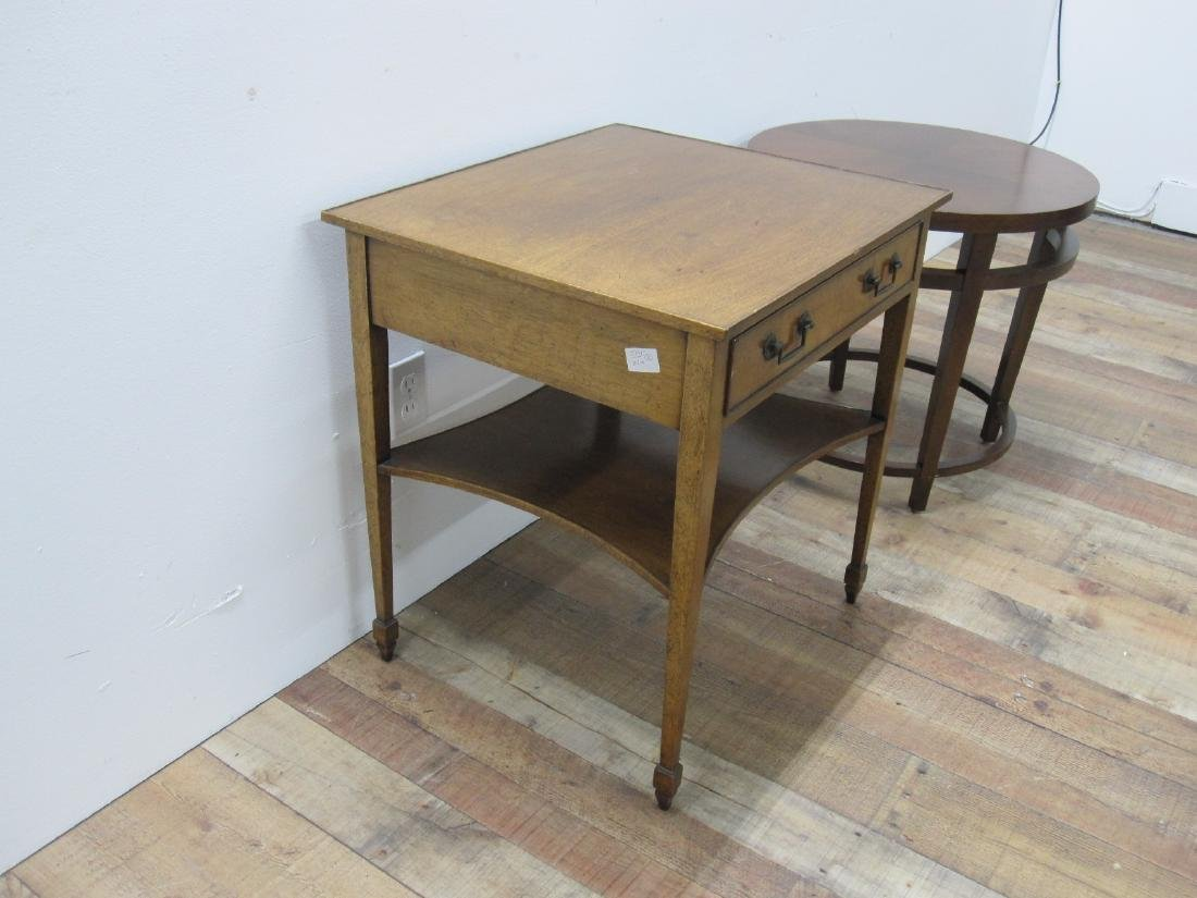 FRUITWOOD ONE DRAWER OCCASIONAL TABLE - 3