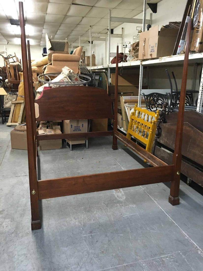 CHERRYWOOD POSTER BED