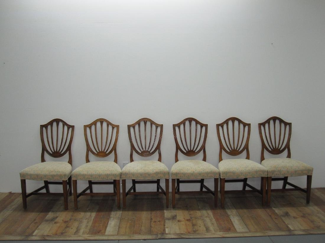 SIX CENTURY FURNITURE DINING CHAIRS