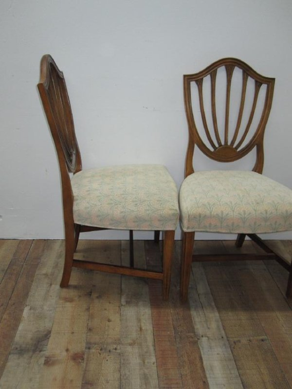 SIX CENTURY FURNITURE DINING CHAIRS - 4