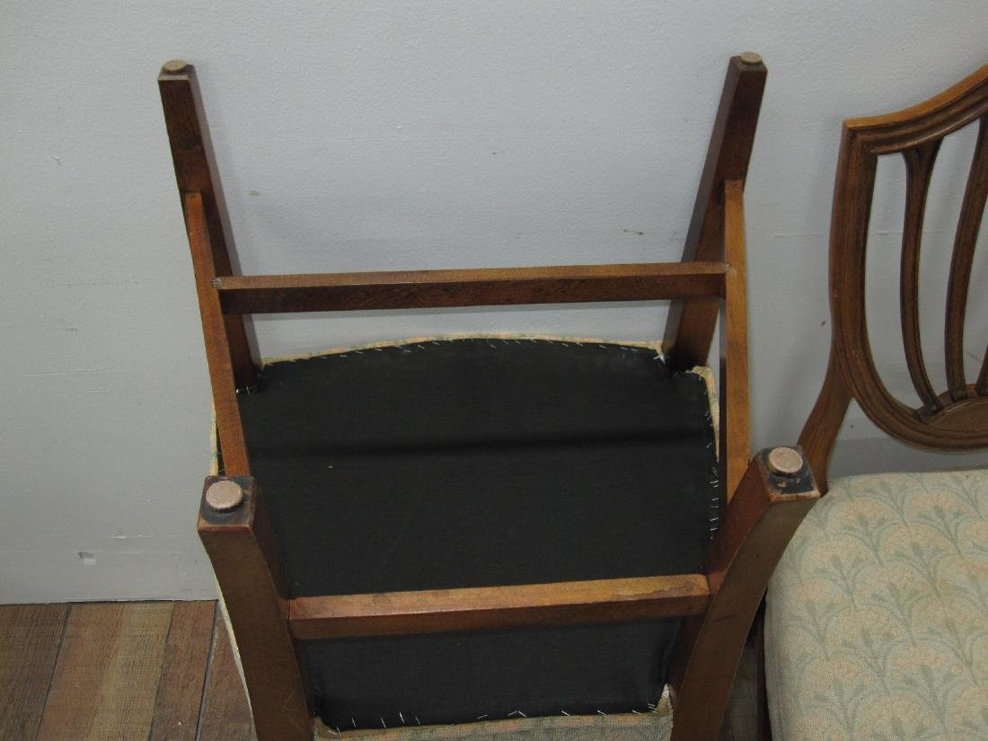 SIX CENTURY FURNITURE DINING CHAIRS - 6