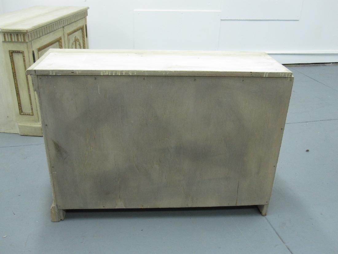 NEOCLASSICAL STYLE BREAKFRONT CABINET - 8