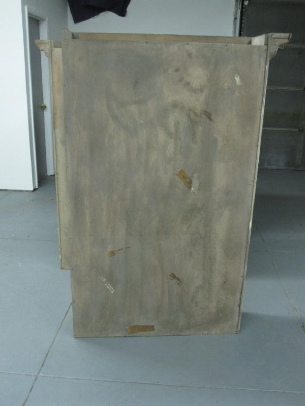 NEOCLASSICAL STYLE BREAKFRONT CABINET - 9