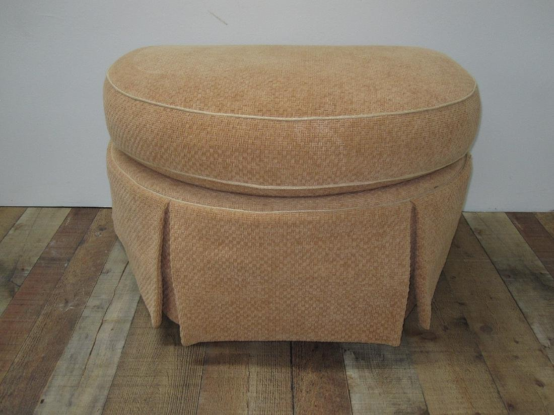 PAIR OF UPHOLSTERED EASY CHAIRS - 4