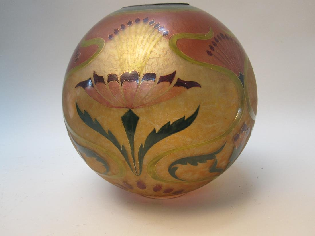 ARTS AND CRAFTS STYLE GONE WITH THE WIND GLOBE