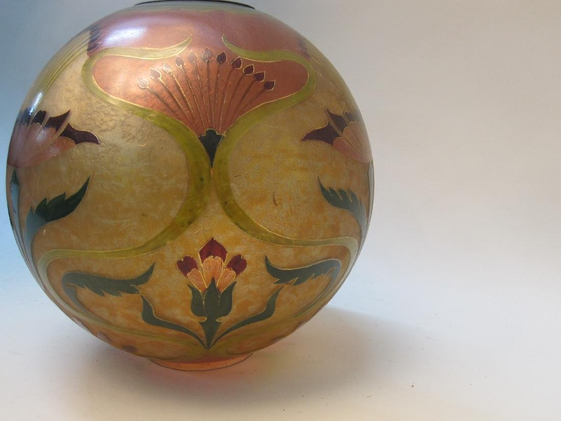 ARTS AND CRAFTS STYLE GONE WITH THE WIND GLOBE - 2