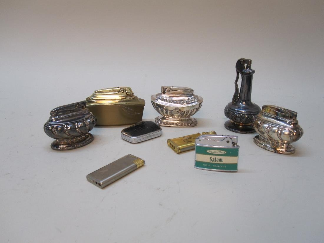 GROUP OF ASSORTED RONSON LIGHTERS