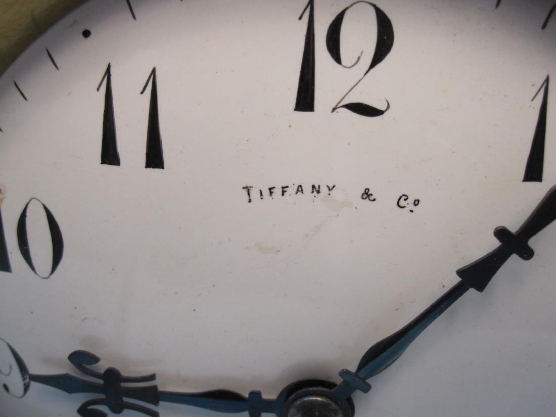 TIFFANY AND COMPANY MANTLE CLOCK - 3