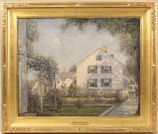 Oil on Canvas, White House, Wilson Irvine