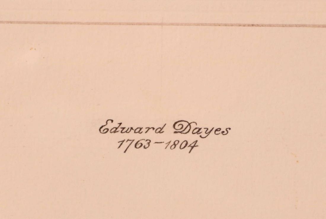 Ink Drawing, Edward Dayes, Gossiping Women - 3
