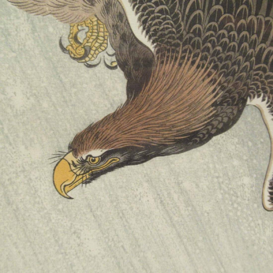 ORIENTAL PRINT OF EAGLE - 2