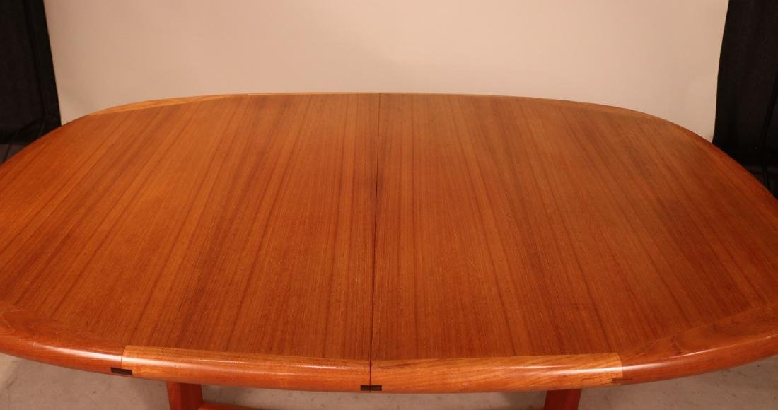Danish Modern Teak Dining Table - 2