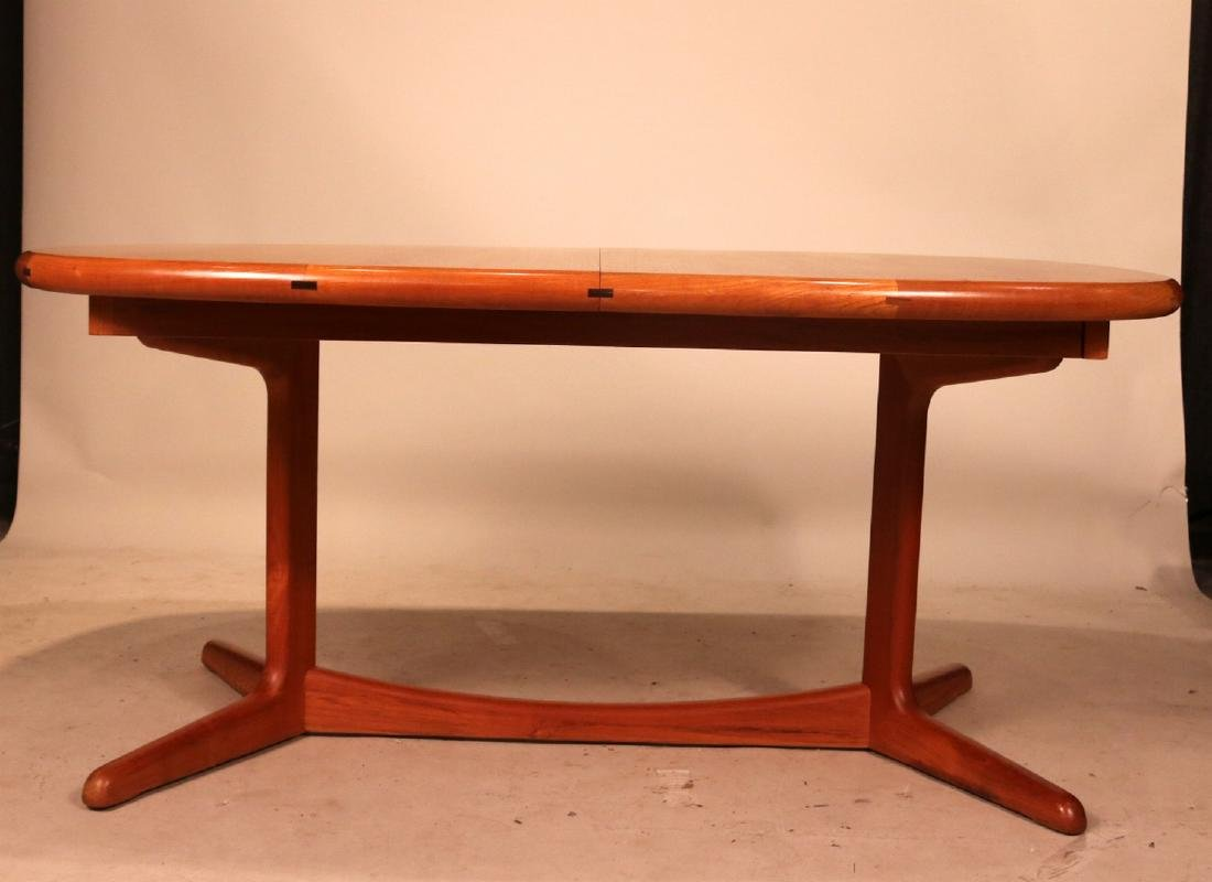 Danish Modern Teak Dining Table - 7