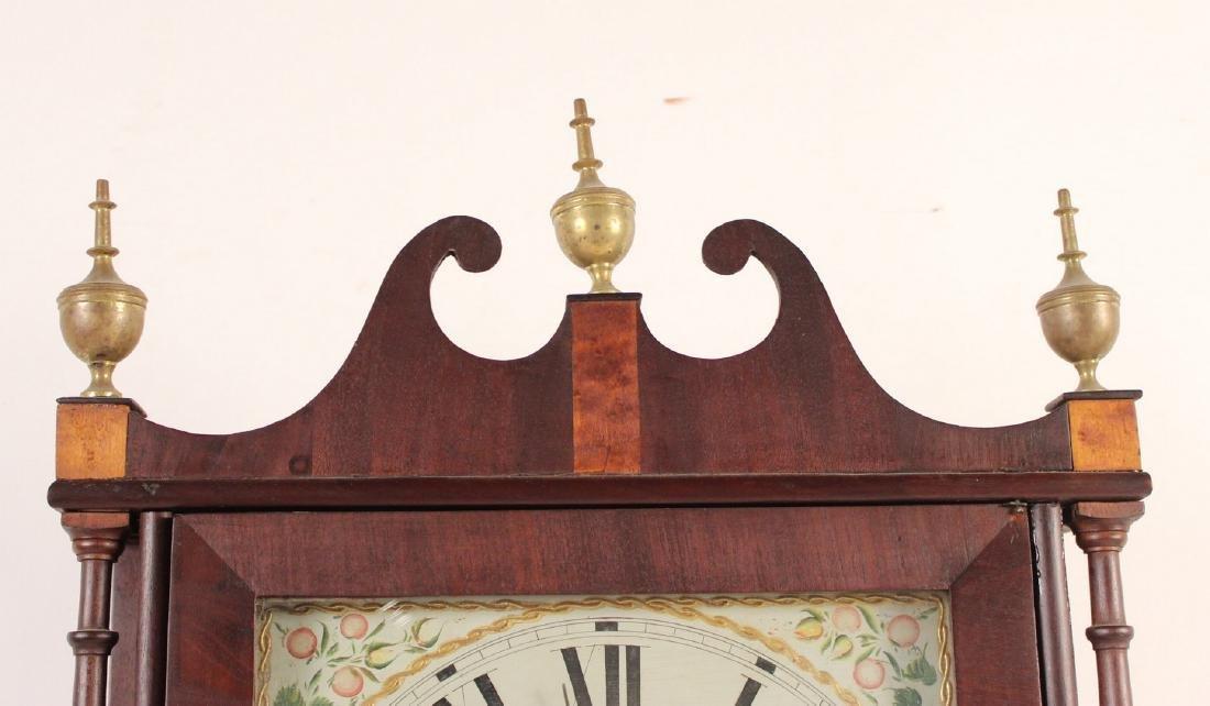 Federal Mahogany and Eglomise Shelf Clock - 3