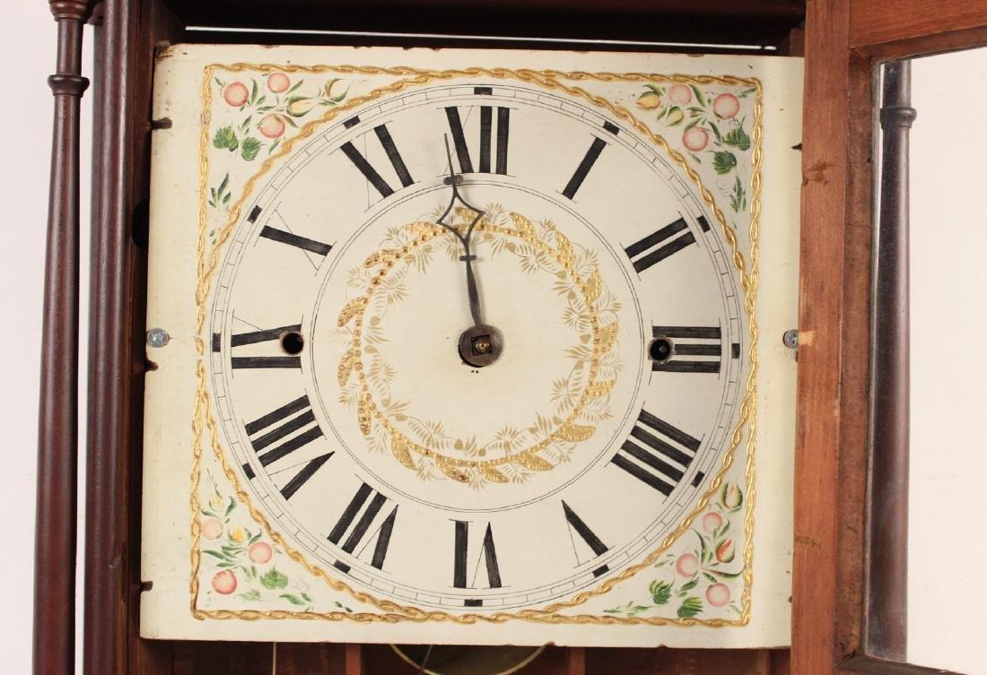 Federal Mahogany and Eglomise Shelf Clock - 4