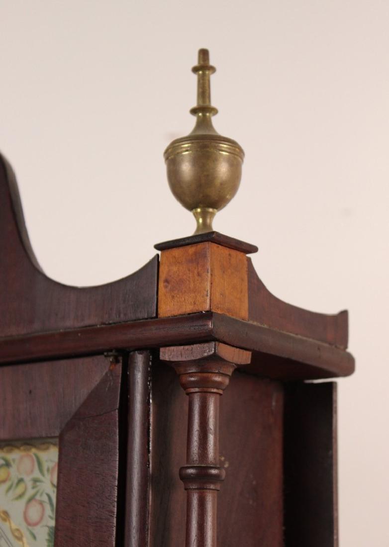 Federal Mahogany and Eglomise Shelf Clock - 5