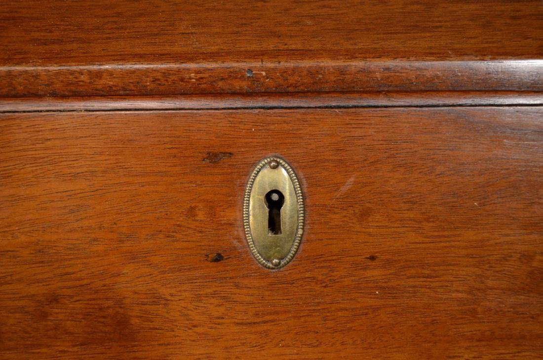 Chippendale Carved Mahogany Slant-Front Desk - 4