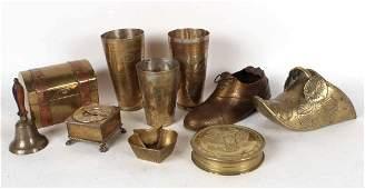 Ten Brass Table Articles