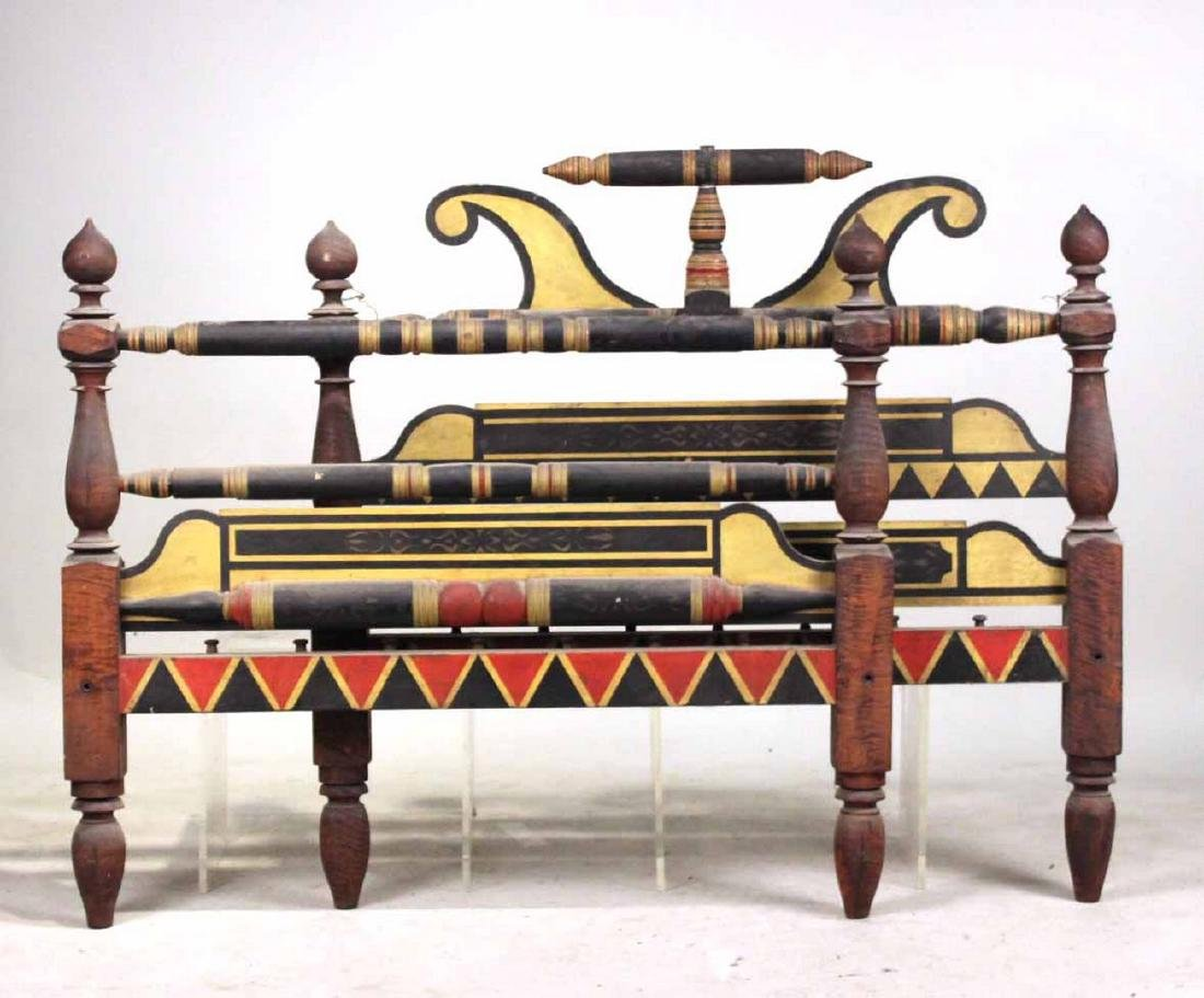 Empire Painted Bedstead, New England