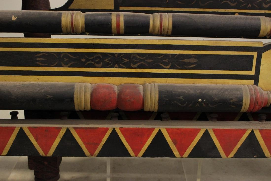 Empire Painted Bedstead, New England - 5