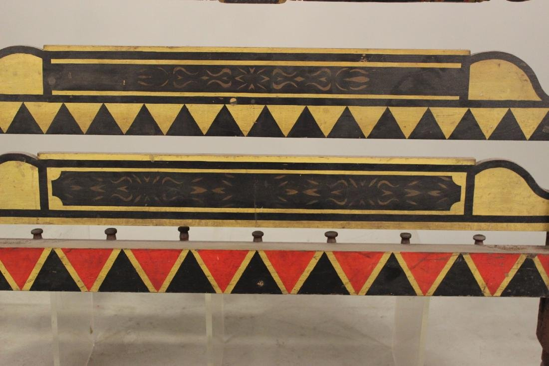 Empire Painted Bedstead, New England - 7