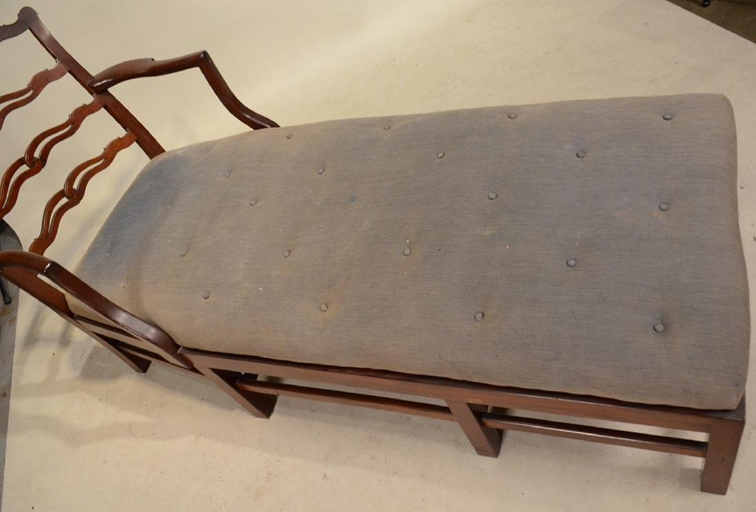 Chippendale Style Mahogany Day Bed - 2