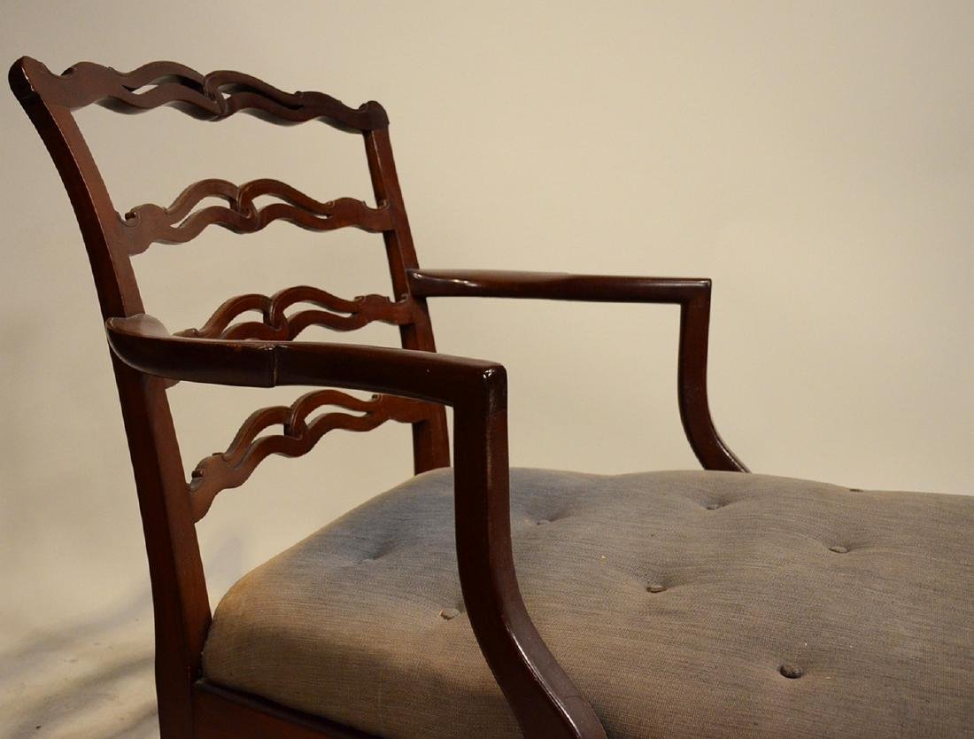 Chippendale Style Mahogany Day Bed - 4