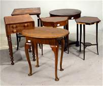 Group of Side Tables