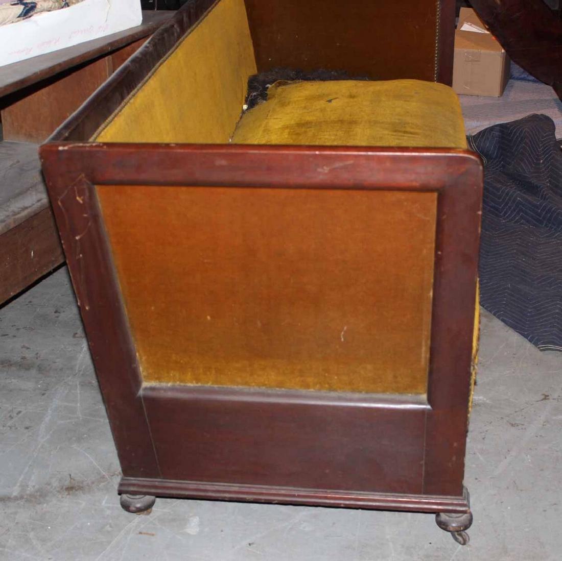 Mahogany Box Sofa - 2
