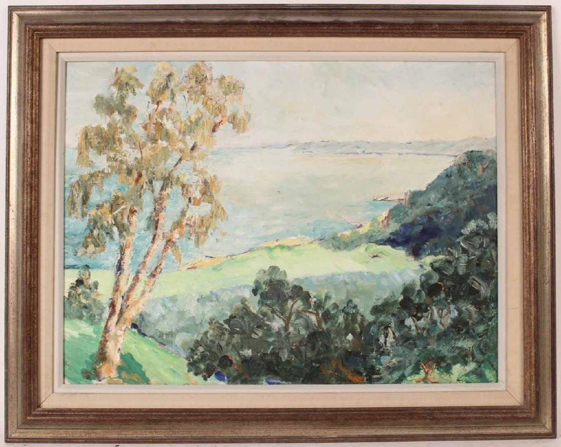 Oil on Canvas, Landscape, Harriet Ogden